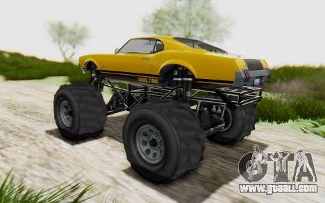 Declasse Sabre Turbo XL for GTA San Andreas left view