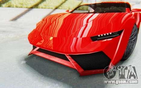 GTA 5 Pegassi Reaper IVF for GTA San Andreas side view