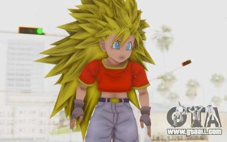 Dragon Ball Xenoverse Pan SSJ3 for GTA San Andreas