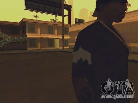 T-shirt I am the BATMAN for GTA San Andreas third screenshot