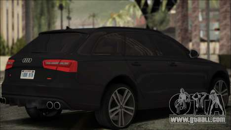 Audi S6 for GTA San Andreas left view