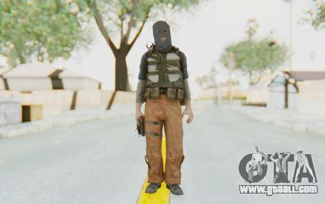 CoD MW3 Suicide Bomber for GTA San Andreas second screenshot