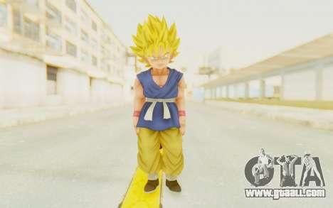 Dragon Ball Xenoverse Goku Kid GT SSJ for GTA San Andreas second screenshot