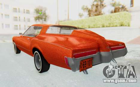 Buick Riviera 1972 Boattail Lowrider for GTA San Andreas left view