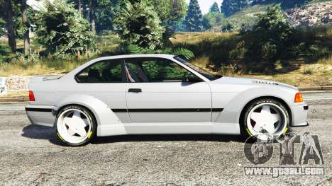 GTA 5 BMW M3 (E36) Street Custom left side view