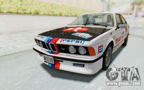 BMW M635 CSi (E24) 1984 HQLM PJ2 for GTA San Andreas side view