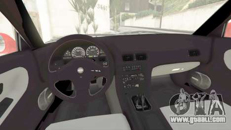 GTA 5 Nissan 180SX Type-X v1.0 right side view