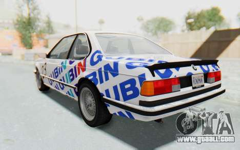 BMW M635 CSi (E24) 1984 HQLM PJ1 for GTA San Andreas wheels
