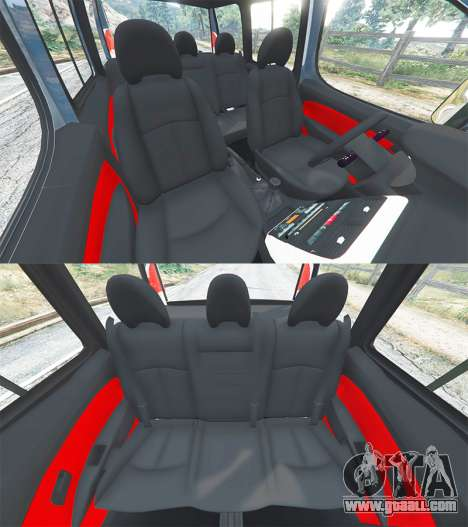 GTA 5 Fiat Doblo front right side view