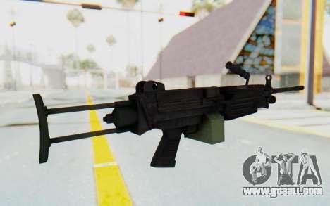 FN Minimi M249 Para for GTA San Andreas third screenshot
