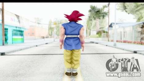 Dragon Ball Xenoverse Goku GT Adult SSG for GTA San Andreas third screenshot
