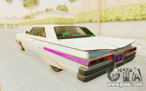 GTA 5 Declasse Voodoo Alternative v2 for GTA San Andreas interior