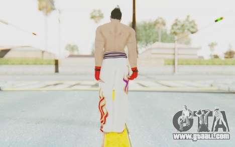 Kazuya Mishima Skin for GTA San Andreas third screenshot