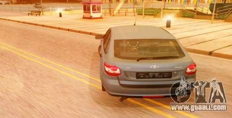 Lada Granta Liftback Beta v1 for GTA San Andreas left view