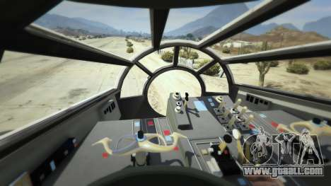 GTA 5 Star Wars Millenium Falcon 5.0 sixth screenshot
