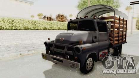 Chevrolet 56 Mini C.O.E. for GTA San Andreas right view