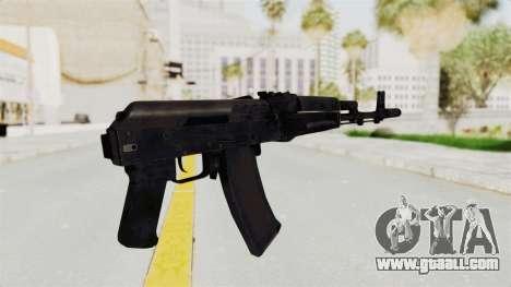 AK-74M v2 for GTA San Andreas third screenshot