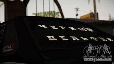 2109 Tramp for GTA San Andreas back view