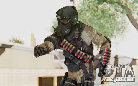 Federation Elite Shotgun Desert for GTA San Andreas