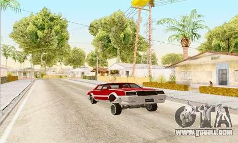 New Tahoma from GTA 5 for GTA San Andreas right view