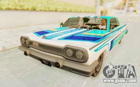 GTA 5 Declasse Voodoo for GTA San Andreas side view
