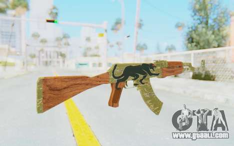 CS:GO - AK-47 Jaguar for GTA San Andreas second screenshot