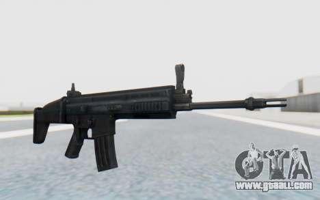 SCAR-L for GTA San Andreas second screenshot