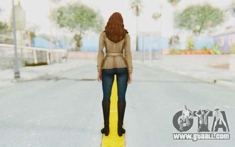 Marvel Future Fight - Black Widow (Civil War) for GTA San Andreas third screenshot