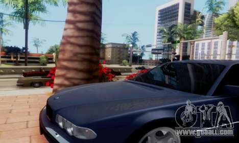 BMW 750 for GTA San Andreas right view
