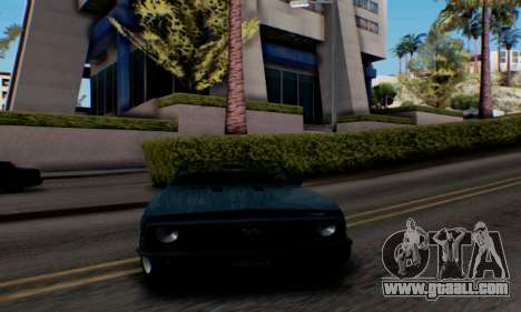 Chevrolet 369 Camaro SS for GTA San Andreas back left view