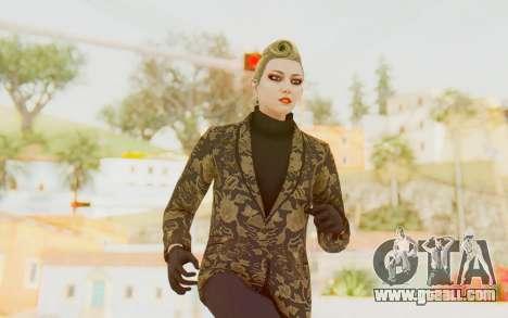 GTA 5 DLC Finance and Felony Female Skin for GTA San Andreas