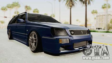 Nissan Stagea WC34 1996 for GTA San Andreas right view