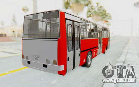 Ikarus 260 Istanbul for GTA San Andreas back left view