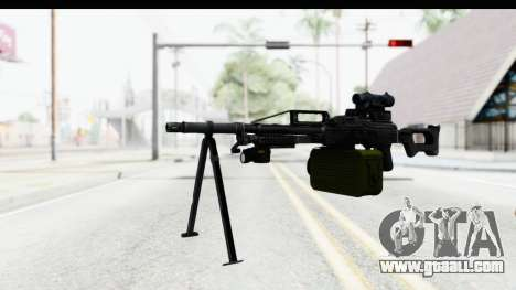 Kalashnikov PK (PKM) for GTA San Andreas second screenshot