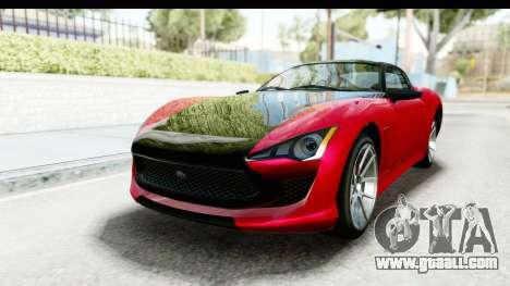 GTA 5 Lampadati Furore GT IVF for GTA San Andreas right view