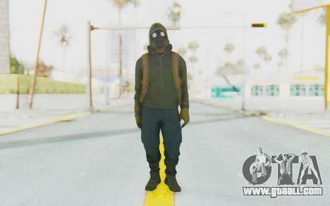 The Division Cleaners - Shield for GTA San Andreas second screenshot