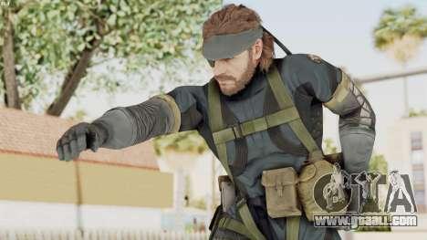 MGSV Phantom Pain Big Boss SV Sneaking Suit v1 for GTA San Andreas