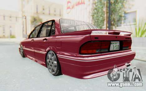 Mitsubishi Galant VR4 1992 for GTA San Andreas back left view