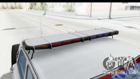 ГАЗ 24 Police Highway Patrol for GTA San Andreas side view