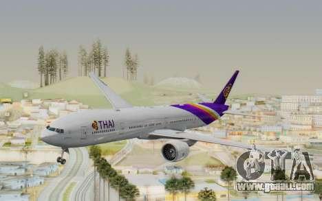Boeing 777-300ER Thai International Airways for GTA San Andreas