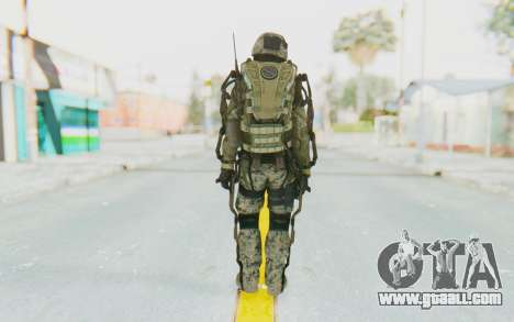 CoD AW US Marine Assault v3 Head C for GTA San Andreas third screenshot