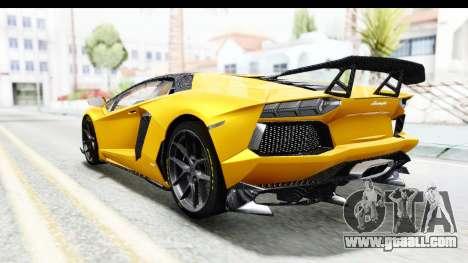 Lamborghini Aventador LP700-4 LB Walk for GTA San Andreas right view