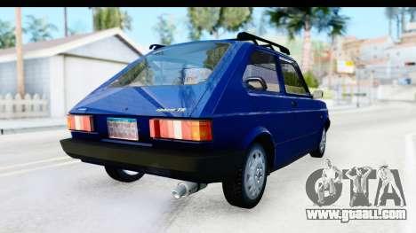 Fiat 147 Spazio TR Stock for GTA San Andreas right view