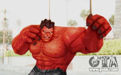 Marvel Future Fight - Red Hulk for GTA San Andreas
