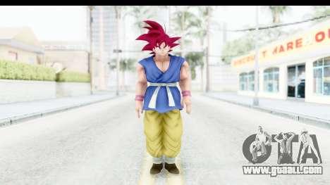 Dragon Ball Xenoverse Goku GT Adult SSG for GTA San Andreas second screenshot