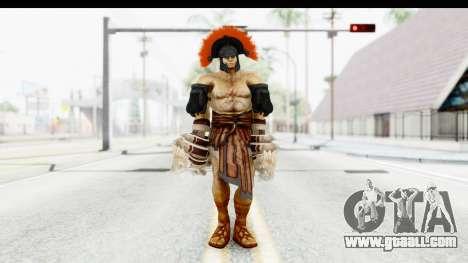 God of War 3 - Hercules v2 for GTA San Andreas second screenshot