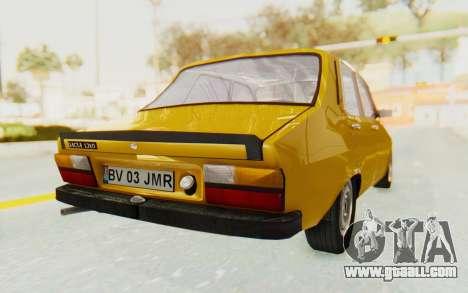 Dacia 1310 for GTA San Andreas back left view