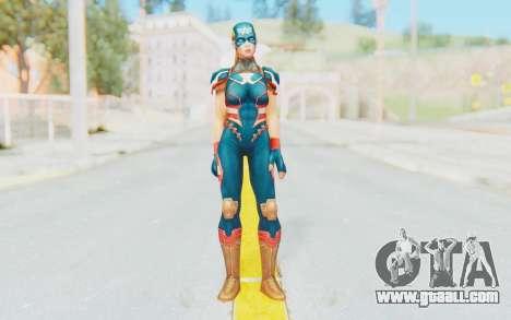 Marvel Future Fight - Captain America (2099) for GTA San Andreas second screenshot