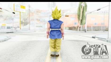 Dragon Ball Xenoverse Goku GT Adult SSJ1 for GTA San Andreas third screenshot