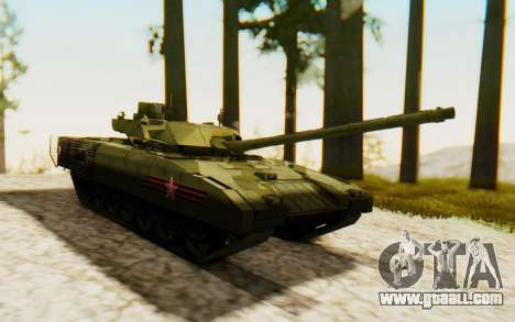 T-14 Armata for GTA San Andreas right view